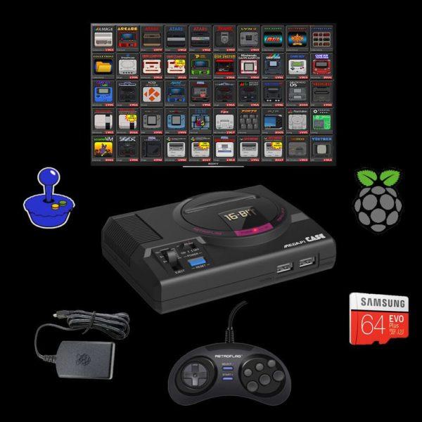 RetroPie Emulation Console Game System 10k – RETRO DUMPS